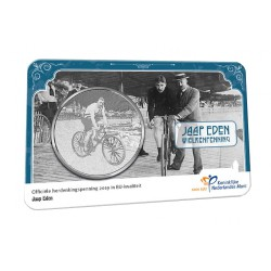 Nederland penning in coincard 2019 'Jaap Eden'