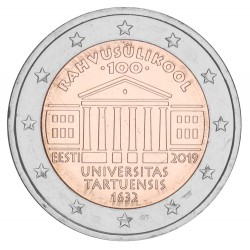 Estland 2 euro 2019 'Universiteit van Tartu'