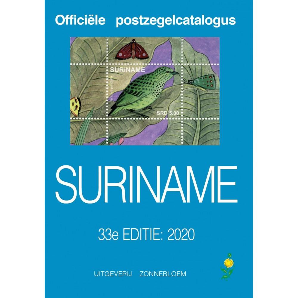 Zonnebloem catalogus Suriname 2020, 33e editie