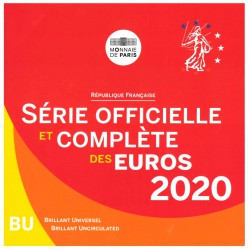Frankrijk BU-Set 2020