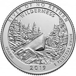 USA Quarter 2019 Idaho 'River of No Return'