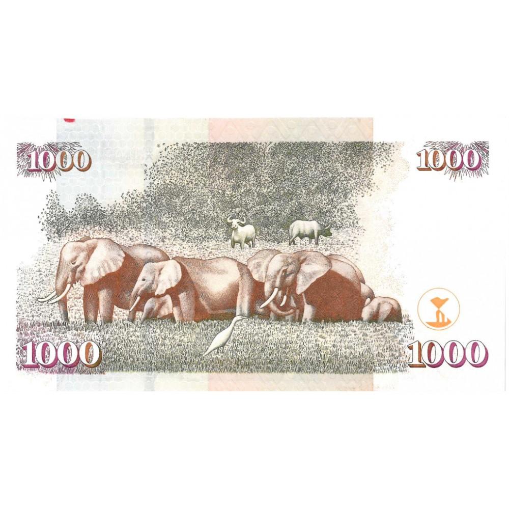 Kenia 1000 shillings 2010