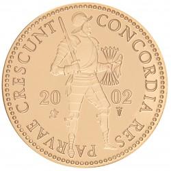 Koninkrijksmunten Nederland Gouden dukaat 2002