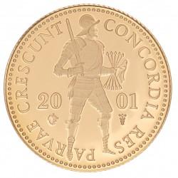 Koninkrijksmunten Nederland Gouden dukaat 2001