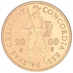 Koninkrijksmunten Nederland Gouden dukaat 2000