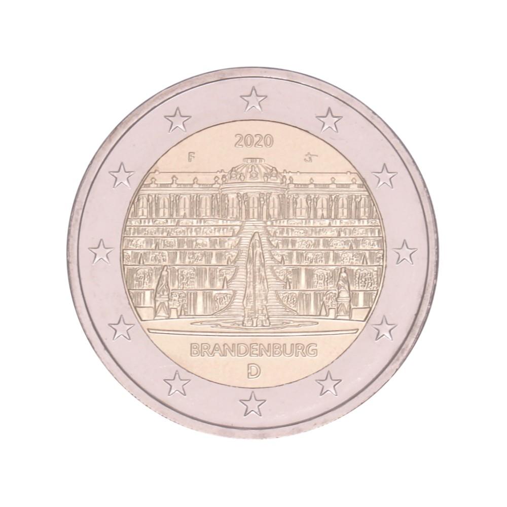 Duitsland 2 euro 2020 'Brandenburg'