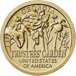 USA $1 Innovation Dollar 2019 'Trustees' Garden'
