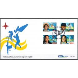 2019 Aruba FDC | Sportzegels