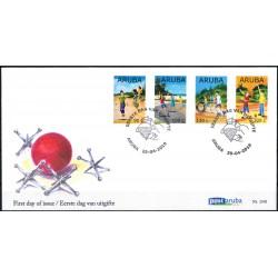 2019 Aruba FDC | Kinderzegels