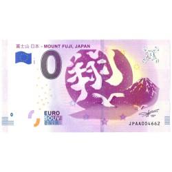 """0 euro Japan 2018 - """"Mount Fuji"""""""