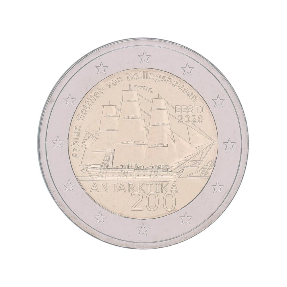 Estland 2 euro 2020 'Ontdekking Antartica'