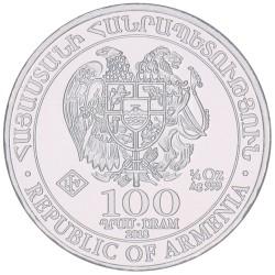 Armenië 100 Dram - Noah's Ark 1/4 OZ