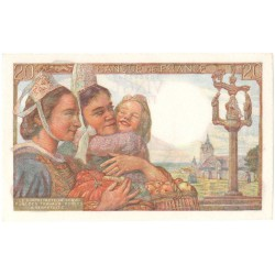 Frankrijk 20 francs 1943