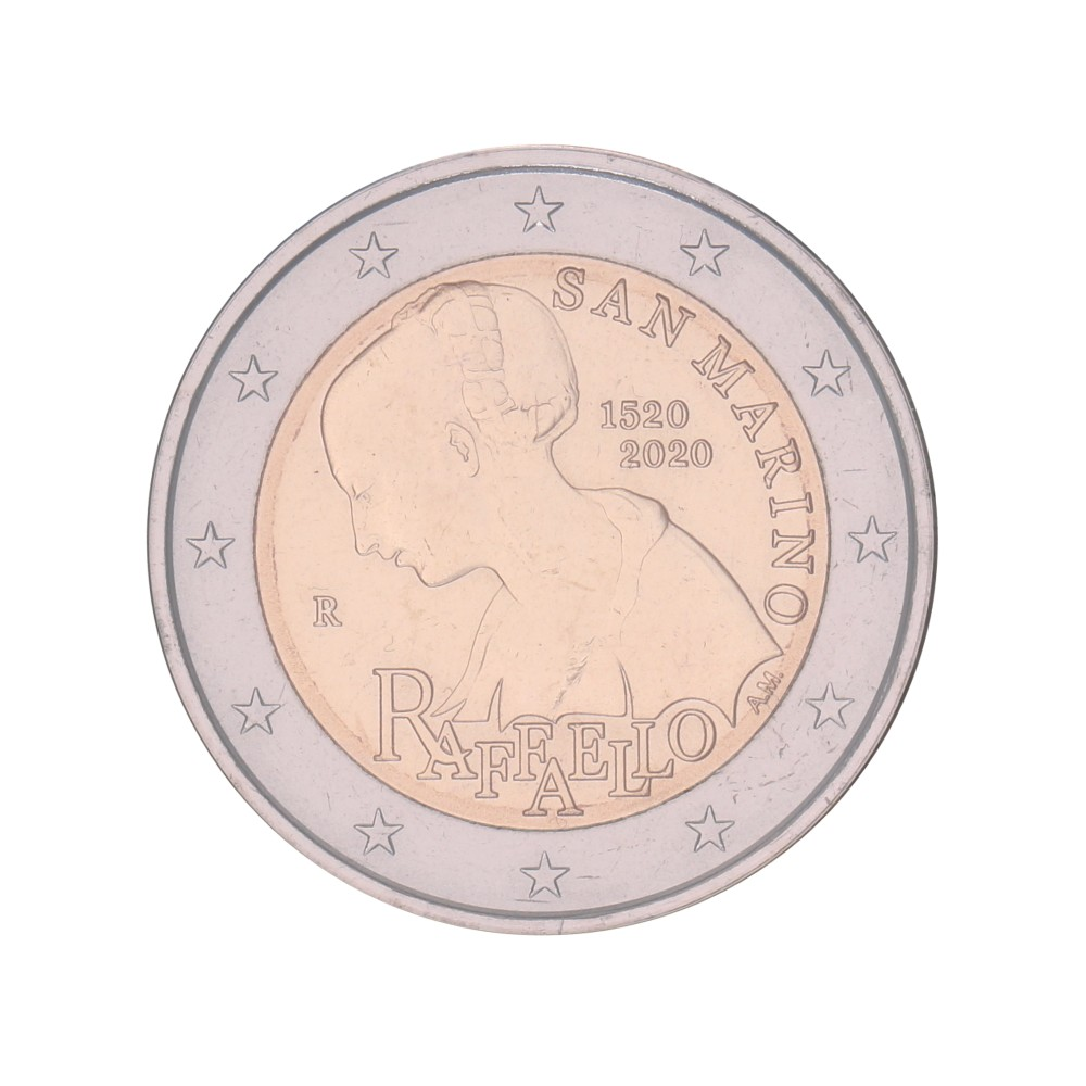 San Marino 2 euro 2020 in blister 'Raffaello'