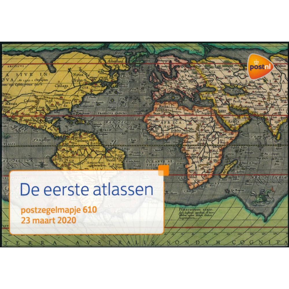 2020 Nederland postzegelmapje   De eerste atlassen
