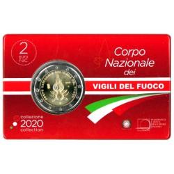 Italië 2 euro 2020 '80 jaar Italiaanse Brandweer'