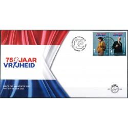 2020 Nederland FDC | 75 jaar vrijheid