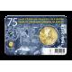 België 2,5 euro 2020 'Vrede en Vrijheid' Ned/Eng tekst. Leverbaar vanaf begin mei
