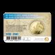 België 2½ euro 2020 '100 jaar Olympische Spelen Antwerpen' kleur BU in coincard