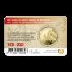 België 2 ½ euro 2020 '100 jaar Olympische Spelen Antwerpen' reliëf BU in coincard