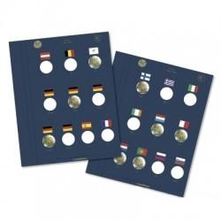 Leuchtturm VISTA aanvullingsbladen voor 2 euromunten '10 jaar EMU'