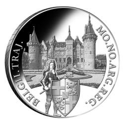 Koninkrijksmunten Nederland Zilveren dukaat 2020 'Kasteel de Haar'