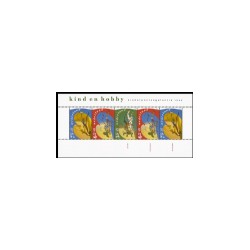 1990 Nederland postzegelblok | Kinderzegels