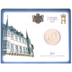 Luxemburg 2 euro 2020 'prins Hendrik van Oranje-Nassau' in blister UITVERKOCHT