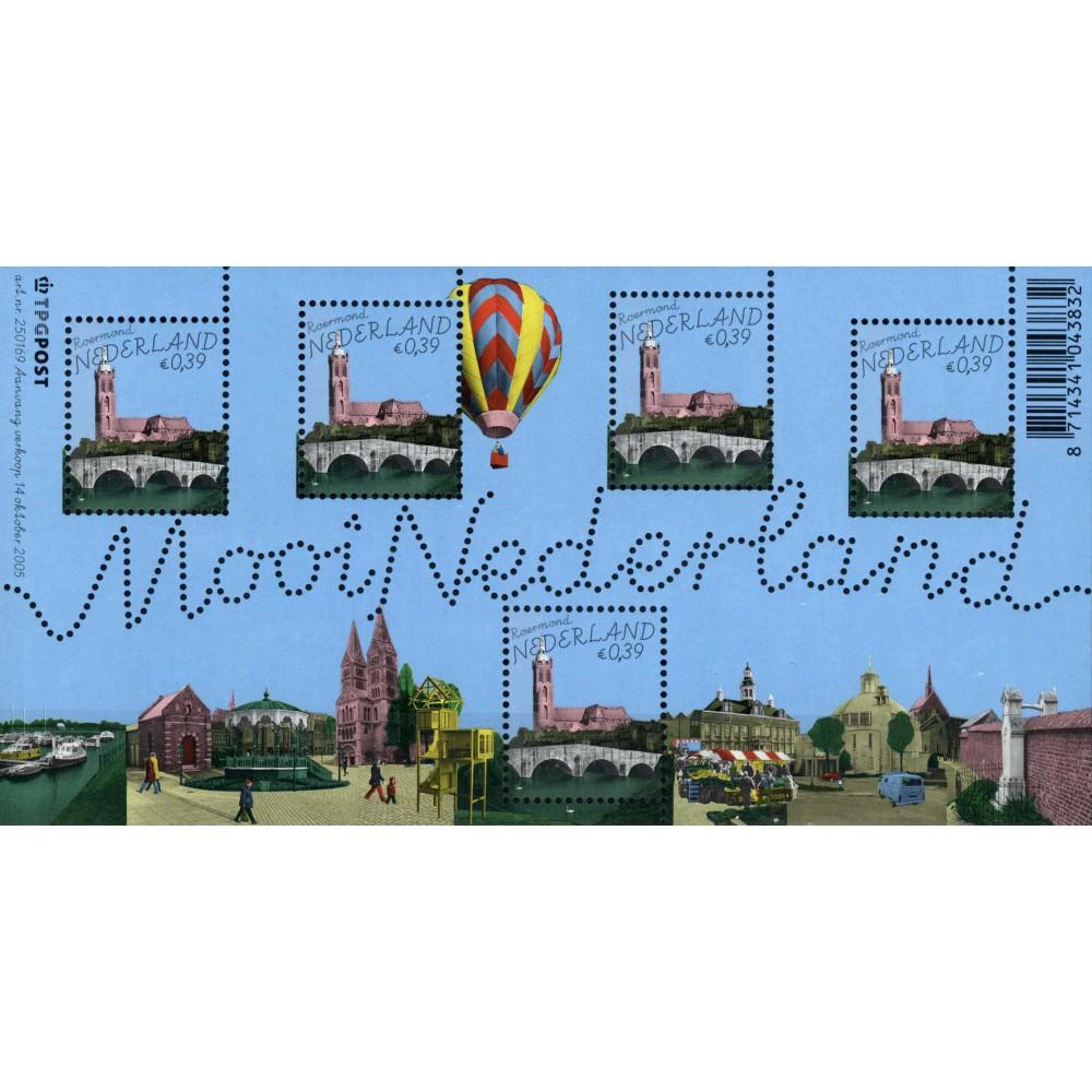 2005 Nederland Blok   Mooi Nederland (9) Roermond