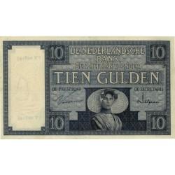 Nederland 10 Gulden 1924 II 'Zeeuws Meisje'