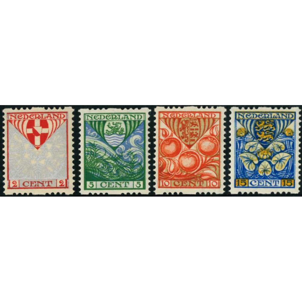 1926 Nederland Roltanding   Tweezijdige roltanding