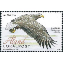 2019 Aland postzegel   Vogel