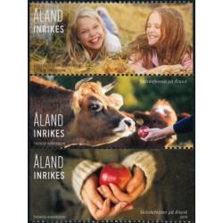 2019 Aland postzegels   Oogst uit pb