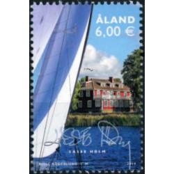2019 Aland postzegel   Mijn zegel, Lasse Holm