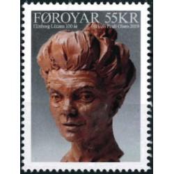 2019 Färöer postzegel | Elinborg Lützen