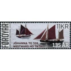 2019 Färöer postzegel | Zeilboten