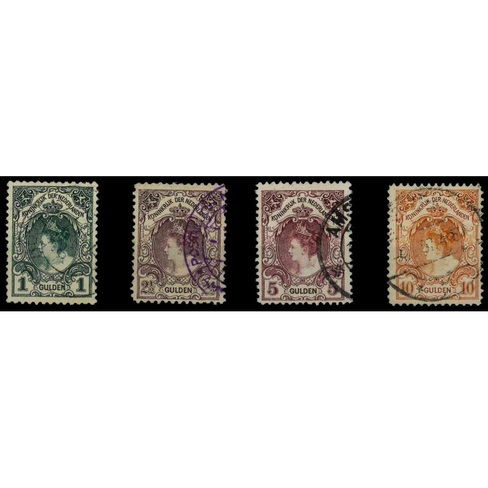 1899-1905 Nederland postzegel   Koningin Wilhelmina