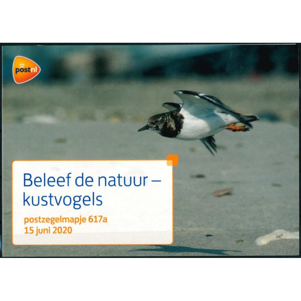 2020 Nederland postzegelmapje | Beleef de natuur - Kustvogels