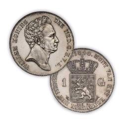 Koninkrijksmunten Nederland 1 gulden 1840