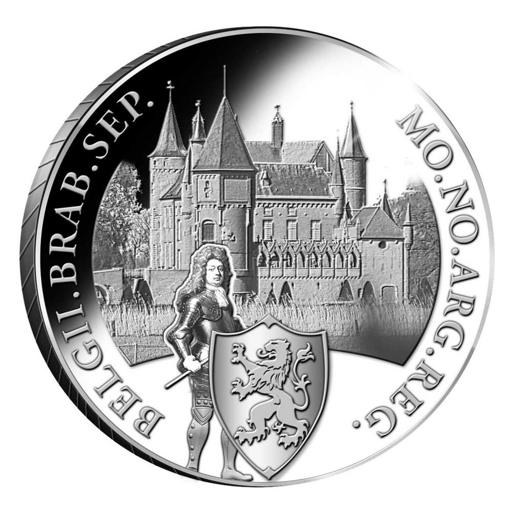 Koninkrijksmunten Nederland Zilveren dukaat 2020 'Kasteel Heeswijk'