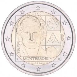 Italië 2 euro 2020 'Maria Montessori'