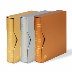 Leuchtturm Optima ringband 'Metallic Edition' incl. opbergcassette