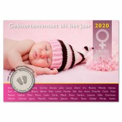 Nederland Geboorte Set 2020 - Meisje