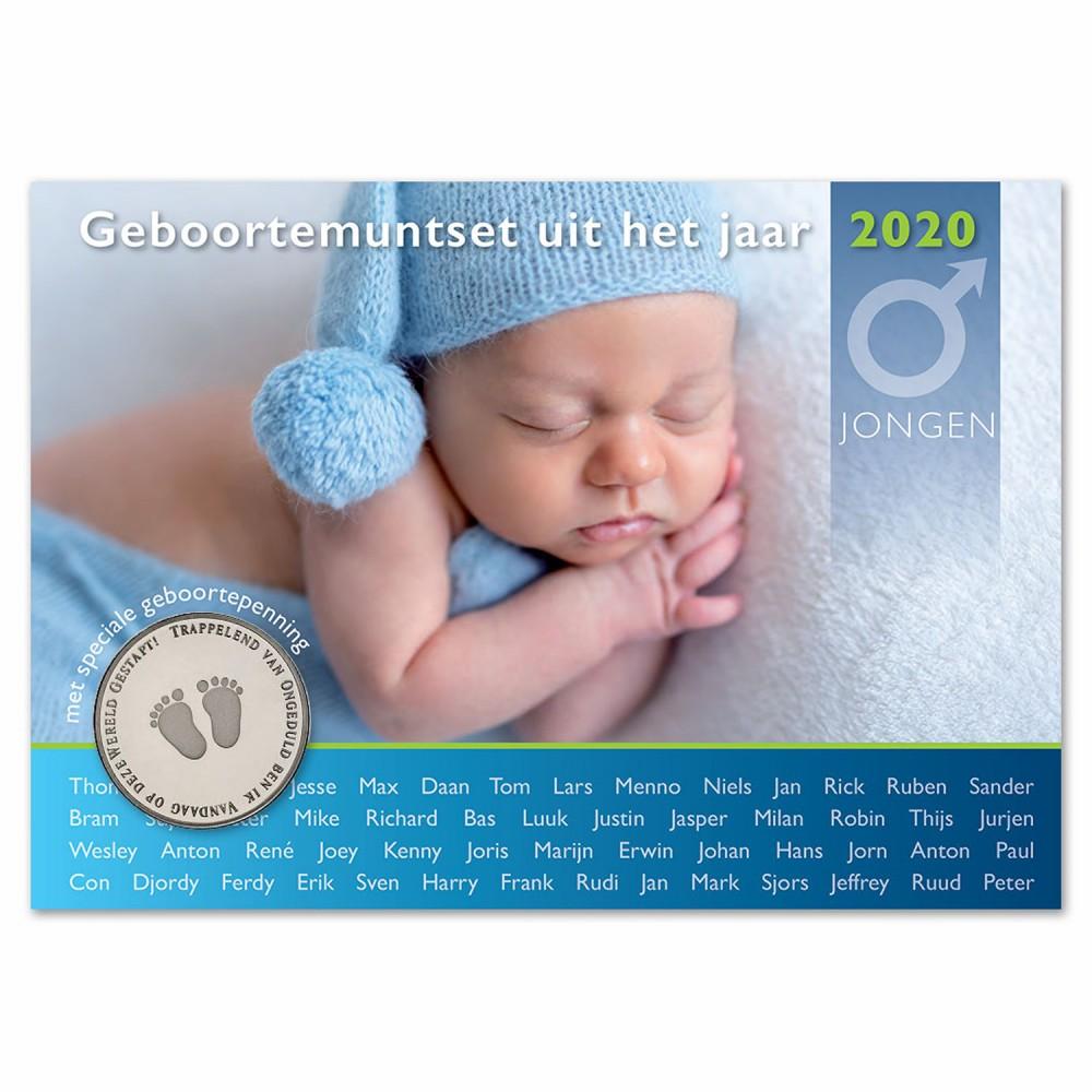 Nederland Geboorte Set 2020 - Jongen