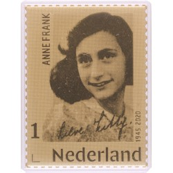 2020 Nederland Gouden postzegel | Anne Frank