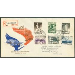 1950 Nederland FDC | Zomer zonder tekst