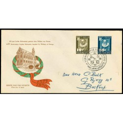 1950 Nederland FDC | Leidse universiteit