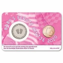 Nederland Geboorte coincard 2020 - Meisje