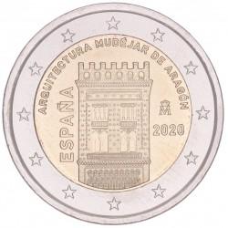 Spanje 2 euro 2020 'Aragon'