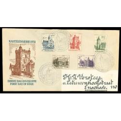 1951 Nederland FDC | Zomer